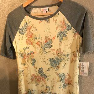 LulaRoe Floral Print Julia Dress Size S